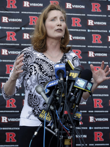 Julie Hermann starts as Rutgers athletic director