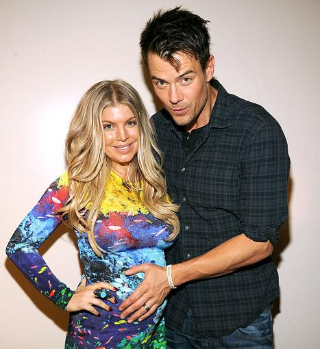 "Josh Duhamel: Fergie Is In ""Great Spirits"" Nearing End of Pregnancy"