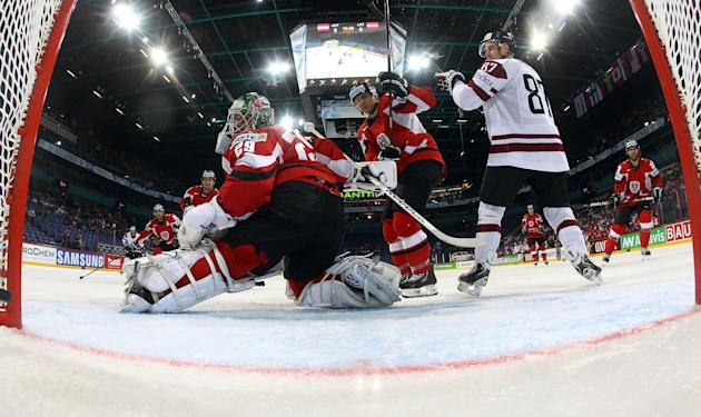 Austria v Latvia - 2013 IIHF Ice Hockey World Championship