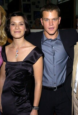 Franka Potente and Matt Damon at the Hollywood premiere of Universal Pictures' The Bourne Supremacy