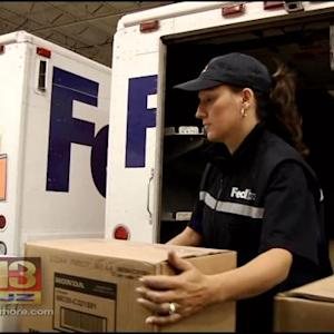 Superbowl Of Delivery: Holiday Season Brings Big Business To FedEx