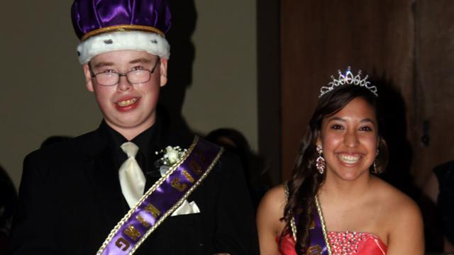 On the Road: An unlikely prom coronation