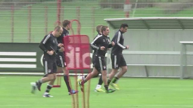 Bayern Munich prepare for Barcelona