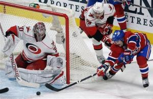 Canadiens win 4th straight, 3-0 over Hurricanes
