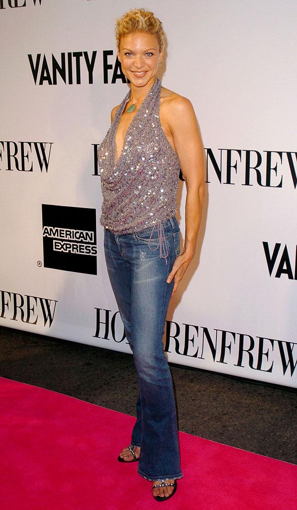 Kristin Lehman at Holt Renfrew's VINYL Style in the Groove/Vanity Fair Gala