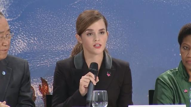 Emma Watson Gives Another Inspirational Speech on Gender Equality