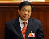 Bo Xilai attends the National People's Congress at the Great Hall of the People in Beijing in March 2012. Bo, the former leader of the southwestern Chinese megacity of Chongqing, is being probed for corruption