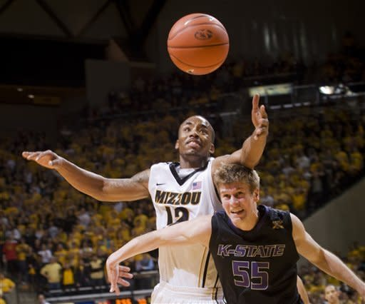 Kansas State upsets No. 3 Missouri 78-68