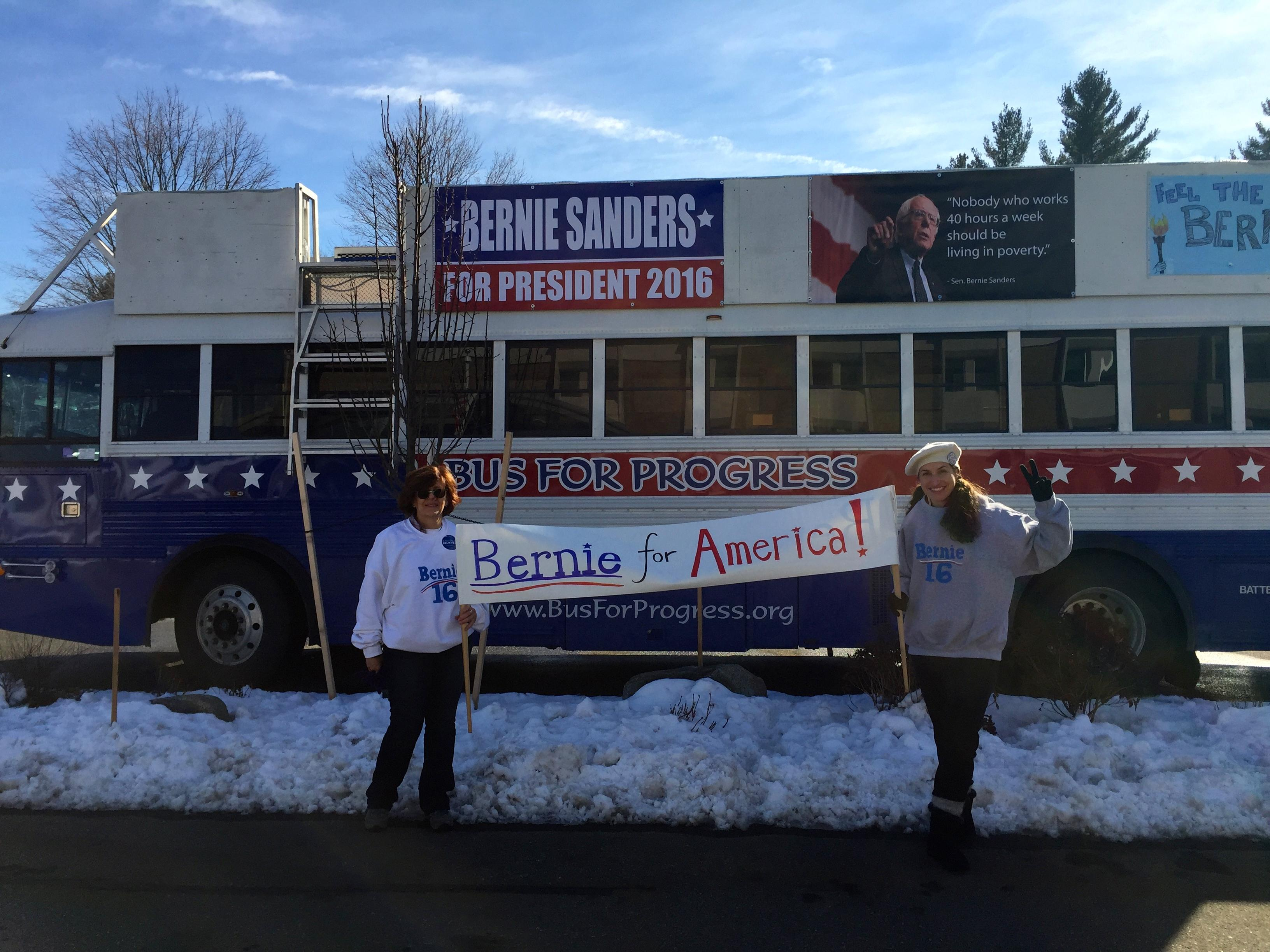 Loving the Bern: The Bernie Sanders Show Scores With Young Demos in New Hampshire