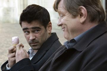 Colin Farrell and Brendan Gleeson in Focus Features' In Bruges