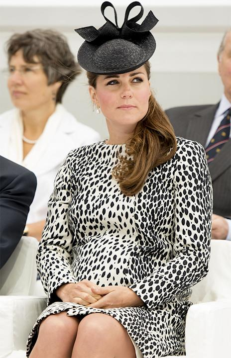 kate middleton overdue labour baby due date