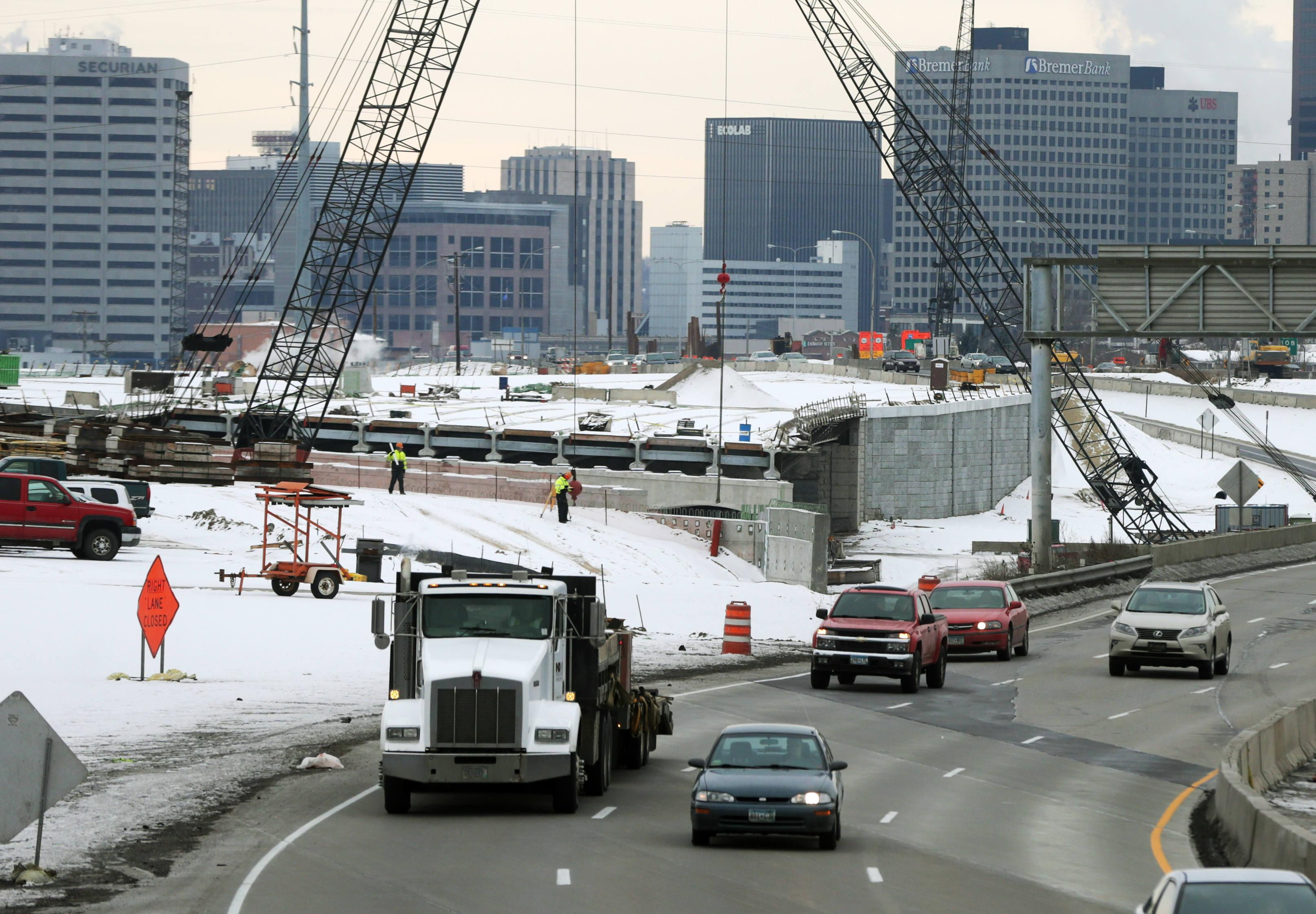Dayton suggests tax hikes to tackle transportation backlog