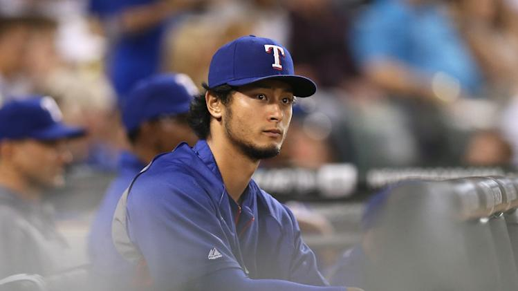 Yu Darvish placed on 15-day DL with elbow inflammation