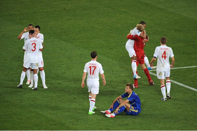 England v Ukraine - Group D: UEFA EURO 2012