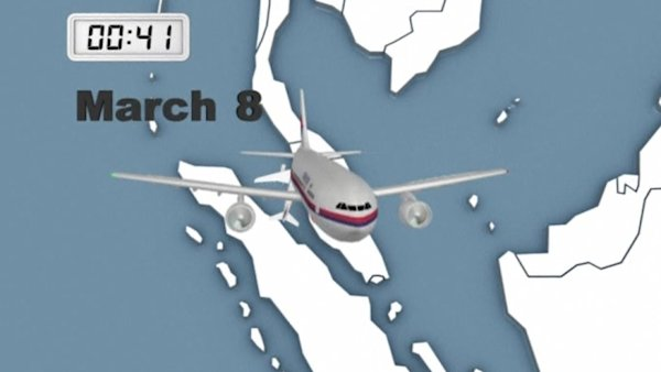 Missing Malaysia flight MH370: timeline of events