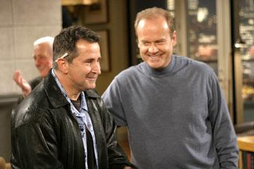 "Anthony LaPaglia and Kelsey Grammer NBC's ""Frasier"" Frasier"