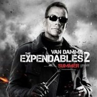 """The Expendables 2"" movie poster"