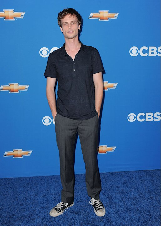 Matthew Gray Gubler of &quot;Criminal Minds&quot; arrives at the CBS Fall Season Premiere party at The Colony on September 16, 2010, in Los Angeles. 