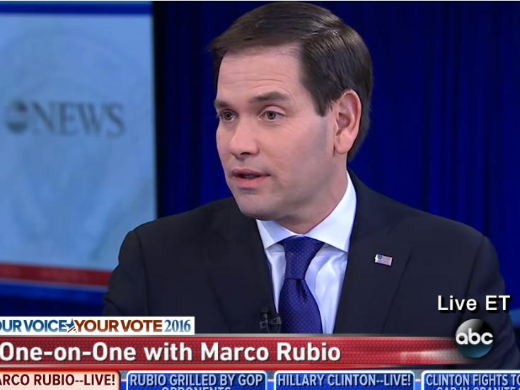 Marco Rubio defends his 'robotic' moment: 'I would pay them to keep running that clip'