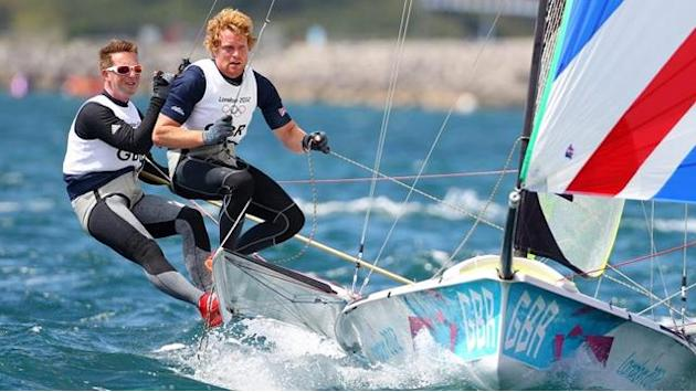 Sailing - British 49er former world champions split up
