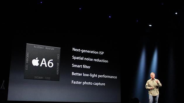 Processor and graphics are 2x faster (new A6 chip).