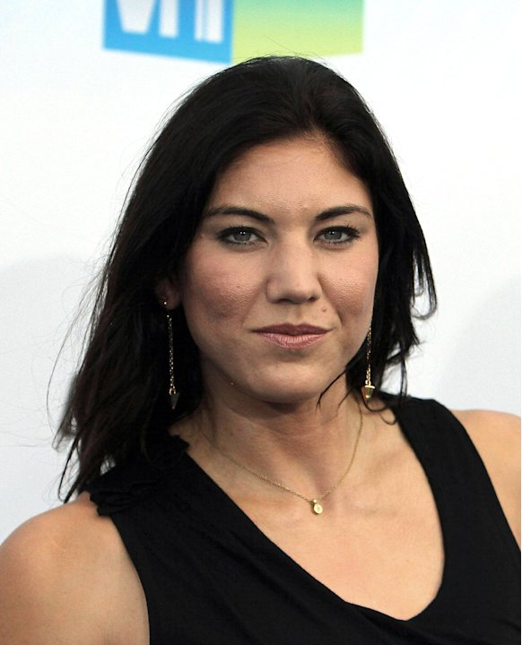 Hope Solo, at the DoSomething.org and VH1's 2012 Do Something Awards 2012 at Barker HangarSanta Monica, California - 19.08.12Mandatory Credit: FayesVision/WENN.com