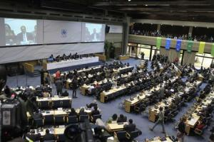 Delegates attend the first UNEA in Nairobi