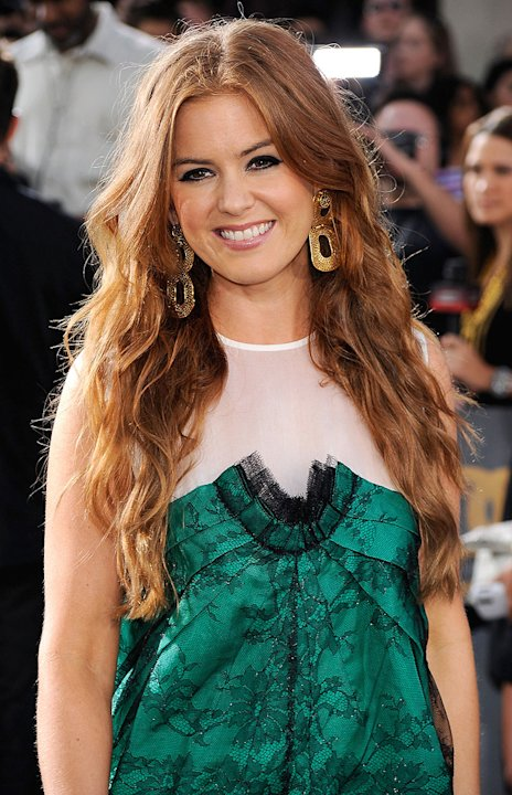 Bruno LA premiere 2009 Isla Fisher