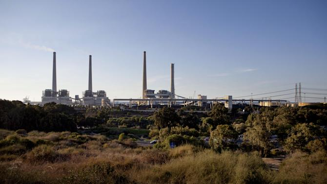 In this Tuesday Oct. 20, 2013 photo, an electric power station is seen near the coastal city of Hadera. When Israel's military chief delivered a high-profile speech this month outlining the greatest threats his country will face in the future, he listed computer sabotage as a top concern, warning a sophisticated cyberattack could one day bring the nation to a standstill. (AP Photo/Dan Balilty)