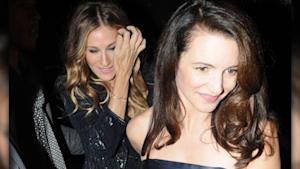 'SATC' Reunion! SJP and Kristin's Night Out