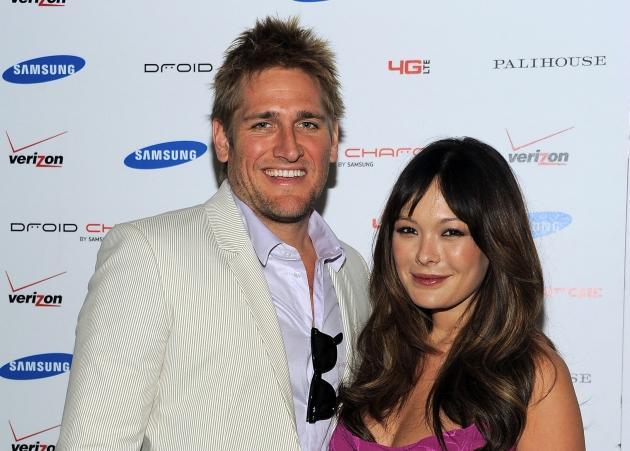 Curtis Stone and Lindsay Price attend the DROID Charge by Samsung Kentucky Derby viewing party hosted by Samsung and Verizon at Palihouse Holloway in West Hollywood, Calif. on May 7, 2011 -- WireImage