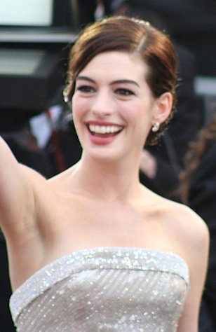 Anne Hathaway at last year's Academy Awards.