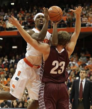 Fair scores 20, No. 9 Syracuse tops Colgate 69-50