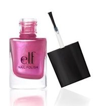berry pink nail polish ELF