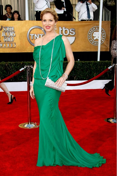 Christina Applegate arrives at the 15th Annual Screen Actors Guild Awards held at the Shrine Auditorium on January 25, 2009 in Los Angeles, California. 