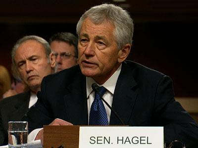 GOP Questions Hagel on Iran