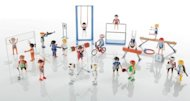 Playmobil's bearded weight-lifter