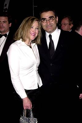 Catherine O'Hara and Eugene Levy 73rd Academy Awards Vanity Fair Party Beverly Hills, CA 3/25/2001