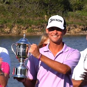 Smylie Kaufman interview after winning the United Leasing Championship