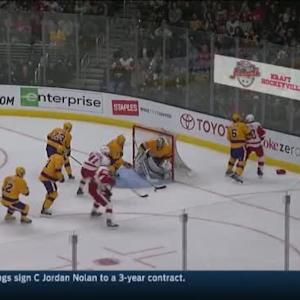 Jonathan Quick Save on Drew Miller (06:49/1st)