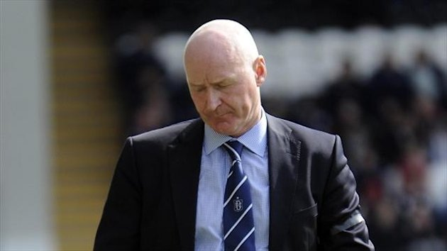 John Brown has now lost just two of his eight games in charge of Dundee