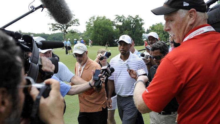 A rude welcome back for Tiger Woods