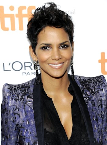 "Actress Halle Berry attends the premiere of ""Cloud Atlas"" during the Toronto International Film Festival on Saturday Sept. 8, 2012 in Toronto. (Photo by Evan Agostini/Invision/AP)"