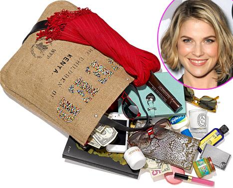 Ali Larter: What's in My Bag