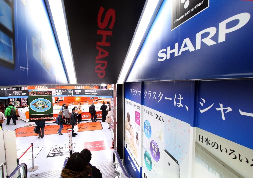 Japan's Sharp drops on bank aid report