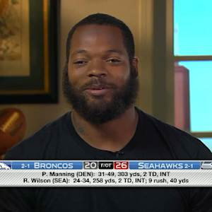 "Seattle Seahawks defensive end Michael Bennett: ""Were clicking right now"""