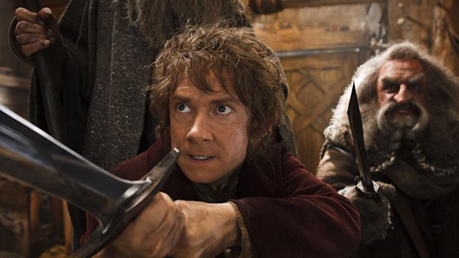 """Hobbit,"" ""Frozen"" lead box office to record year"