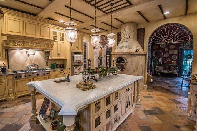 Here Are 8 Modern Kitchens Trying Their Best to Blend into Castles