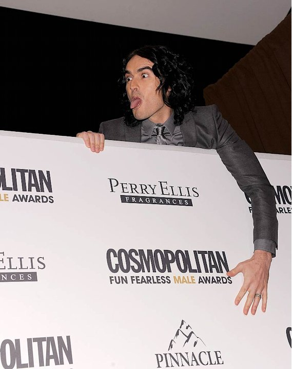 Russell Brand Cosmo Fearless Aw