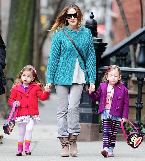 "Sarah Jessica Parker: Twins Loretta, Tabitha ""Like Lots of Books"""